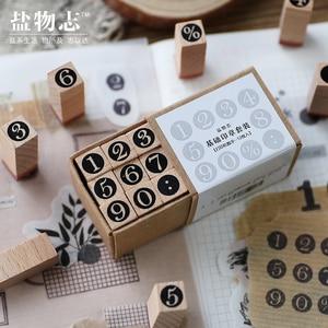 Image 5 - Vintage grundlegende Alphabet Anzahl charakter stempel DIY holz stempel für scrapbooking schreibwaren scrapbooking standard stempel