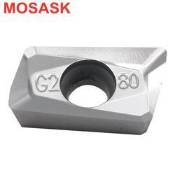 MOSASK APKT 10pcs 1604 1135  ZK01 BAP400 BAP300  End Mill CNC Lathe Aluminum Machining Tungsten Carbide Milling Inserts
