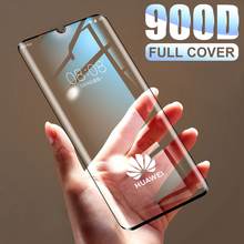 900D Tempered Full Cover Protective Glass on For Huawei P30 P20 Lite Pro Screen