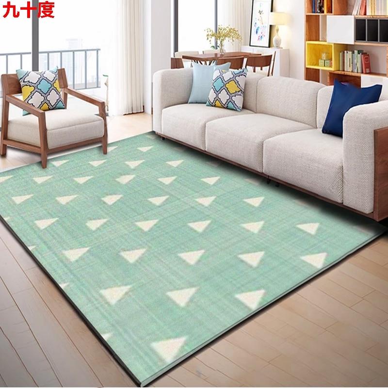 3d tapis de sol maison créative stéréo nordique minimaliste moderne géométrique tapis salon table à thé chambre tapis boutique complète