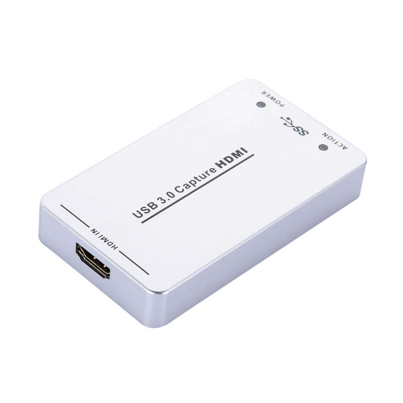 Usb3.0 60Fps Hdmi To Usb3.0 Video Capture Dongle Game Streaming Live Stream Broadcast 1080P Obs/Vmix/Wirecast/Xsplit