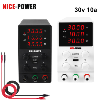30V 10A Adjustable Digital Power Laboratory Power Supply 60V 5A 120V 3A Switching Power Supply Voltage and Current Adjustment image