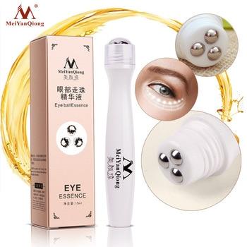 Cuidado de la belleza para ojos diseño de bola esencia hidratante para ojos serum antiedad crema de colágeno para ojos Círculos oscuros cosméticos Coreanos