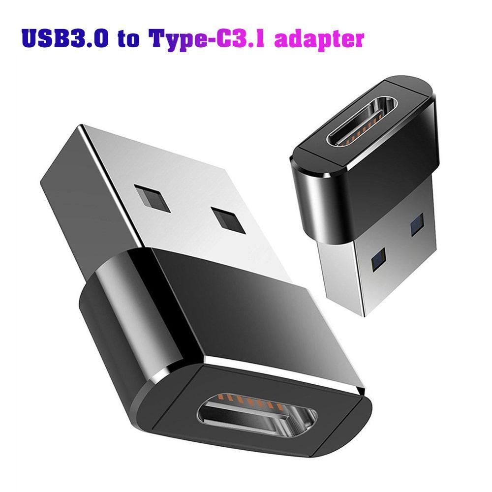 USB 3,0 тип A папа к USB 3,1 Тип C гнездовой разъем конвертер адаптер Type-c USB Стандартная зарядка передачи данных