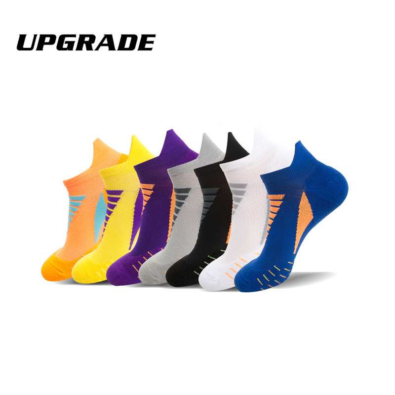 Mens Womens Running Cotton Ankle Socks Gym Tennis Hiking Breathable Sports Socks