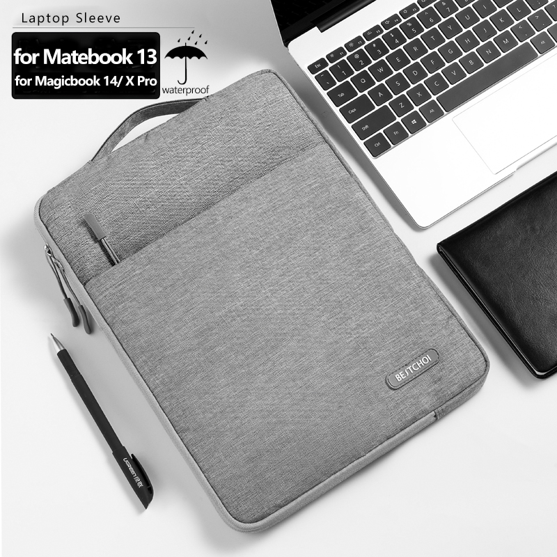 Laptop Sleeve For Huawei Matebook 13 Magicbook 14 Notebook Case For Matebook X Pro Handbag For Matebook E Waterproof Laptop Bag