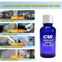 30ml Car Headlight Polishing Agent Scratch Maintenance Clean Agent Spray Polish Repair Fluid Polishing Anti-scratch Liquid 1