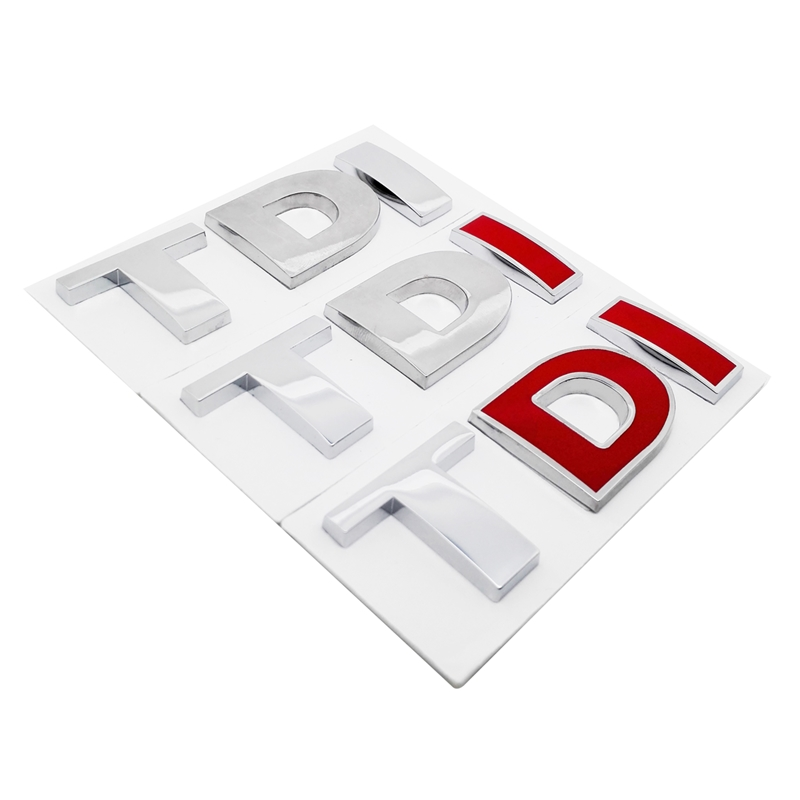 Car <font><b>Sticker</b></font> for TDI <font><b>Logo</b></font> Auto Metal Decal Emblem Badge for <font><b>Volkswagen</b></font> VW polo <font><b>passat</b></font> <font><b>b5</b></font> b7 golf 4 7 t5 touran tiguan sharan image