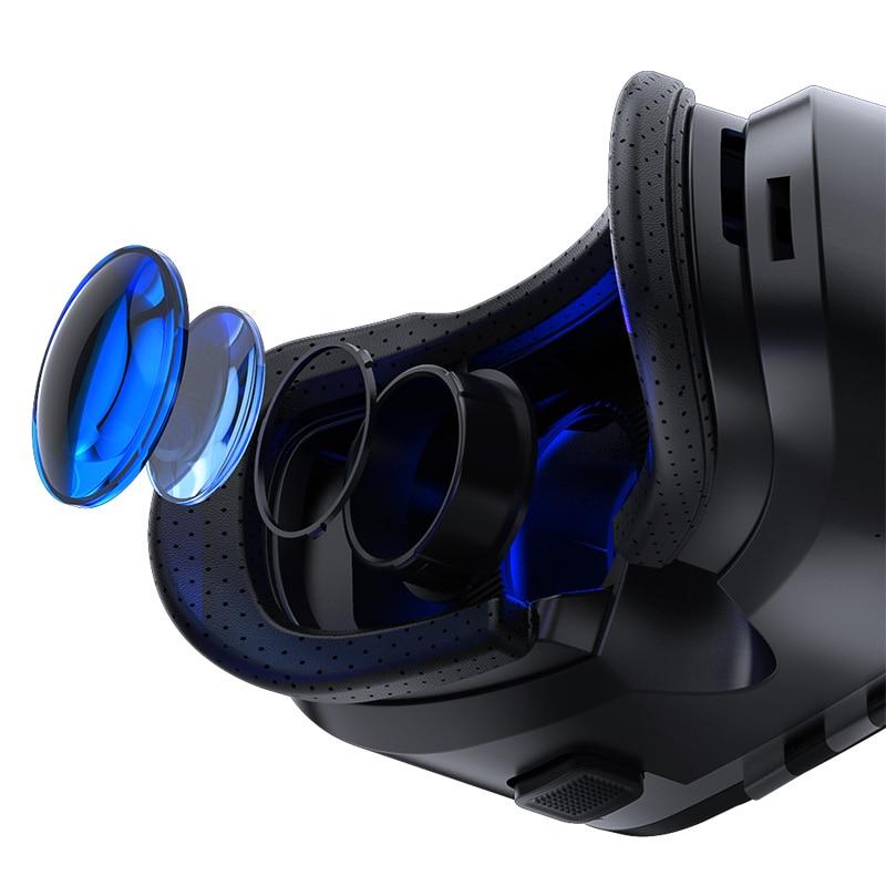VR Shinecon 3 D Casque Viar 3D Glasses Virtual Reality Headset Helmet Goggles Augmented Lenses for Phone Smartphone Binoculars 3