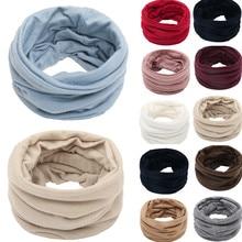 Унисекс Одноцветный теплый флисовый трикотажный зимний шарф шарфы шаль хомут зимний кашемировый шарф для мужчин Bufandas Invierno Mujer