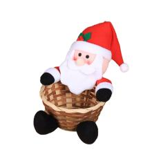 Christmas Decoration Candy Basket Christmas Desktop Decoration Children Candy Basket Christmas Decoration Candy Box(China)