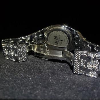 MISSFOX Silver Women's Watch Casual Dress Ladies Watch Fashion Waterproof Steel Quartz Wrist Watches For Women Valentines Gift 5