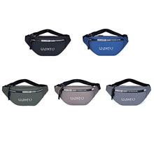 2021 New Large Capacity Men Waist Bag Sports Pack Zipper Multi-Functional Outdoor Shoulder Slant Letters Printed Chest Bag