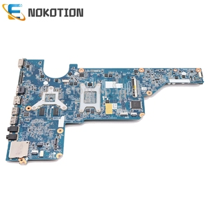 Image 2 - NOKOTION האם מחשב נייד עבור HP Pavilion G4 G6 G7 I3 370M מעבד GT520M GPU 655985 001 DAR18DMB6D1 Mainboard