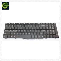 Novo Inglês teclado para Clevo P775DM3 P870KM P870DMG P751DM2 P750DM2 G GX10 HASEE ZX7 ZX8 GX7 GX8 x599 x799 EUA|keyboard remote|keyboard cellphone|keyboard song -