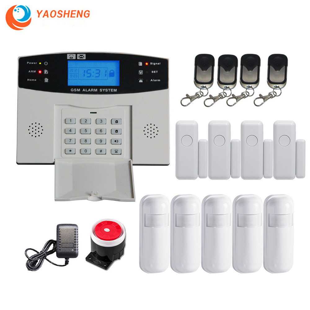 Wired Wireless Gsm Security Alarm System With Automation Intercom Remote Control Autodial Ios Android Smart Home Alarm Kit Hub Alarm System Kits Aliexpress