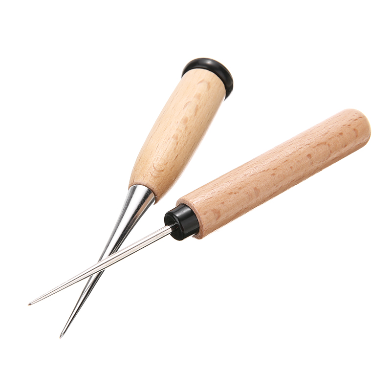Lacing Needle Tools Hand Sewing Stitching Double Hole Home Accessories Gadget