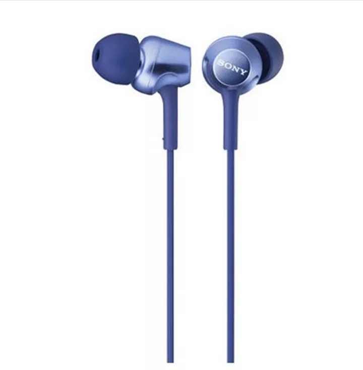 Oryginalny Sony MDR-EX250AP 3.5mm wtyczka w ucho słuchawki douszne słuchawki muzyki neodymowe sterowniki słuchawki douszne dla Xperia Z Z1 Z2 Z3 XZ1 XZ2 X XA1 XA2