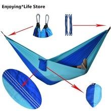 Outdoor Hammock Idyllic Swing Light Single Couple Hammock Indoor Outdoor Camping Leisure Swing Hanging Chair 270x140cm