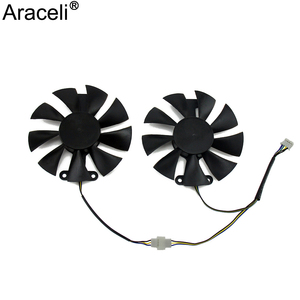 Red Devil RX470 RX480 RX580 GPU Cooler Cooling Fan For PowerColor Radeon Red Dragon AX RX 480 470 580 Video Cards As Replacement