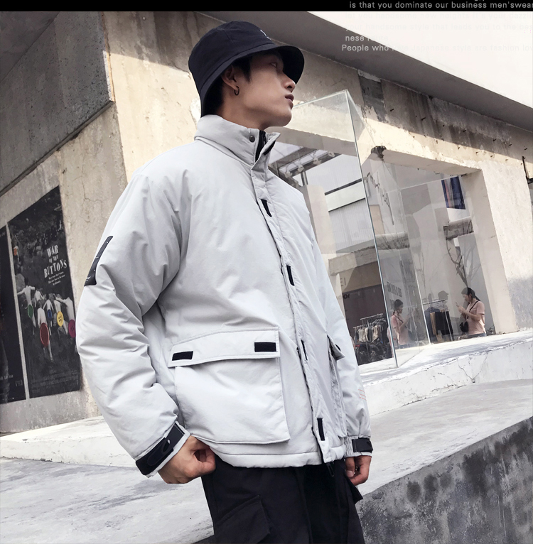 Men's Quality Student Winter Clothes Jacket Men Parka Thick Warm Outwear Korean Youth Streetwear Hip Hop Japan Style Harajuku 27
