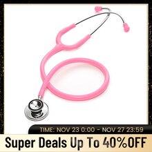 Stéthoscope à Double tête, équipement de cardiologie professionnelle à Double tête, équipement médical et vétérinaire, pour un médecin ou un étudiant