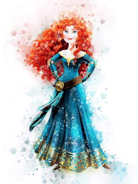 All-Princess-Watercolor-Painting-Canvas-Print-Nursery-Wall-Art-Poster-Elsa-Anna-Party-HD-Picture-Baby.jpg_640x640 (7)
