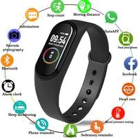 M4 Inteligent Smart Watch Heart Rate/Blood/Pressure/Heart Rate Monitor/Pedometer Ladies Sport Watches Bracelet Electric Clock 1