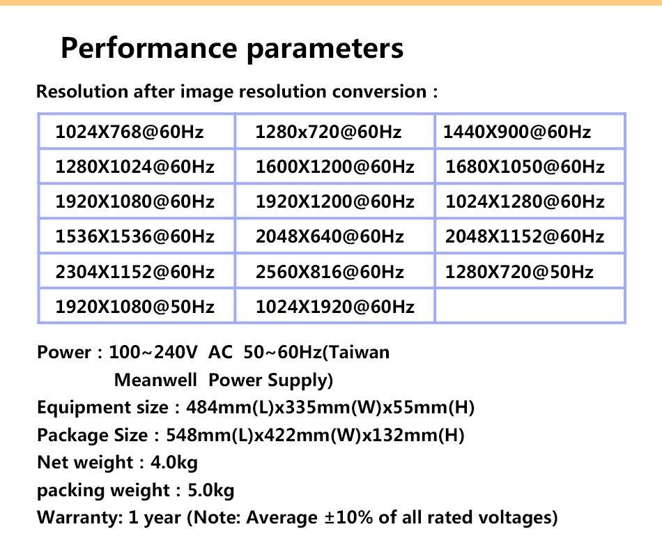 led processador vídeo para p4 display led
