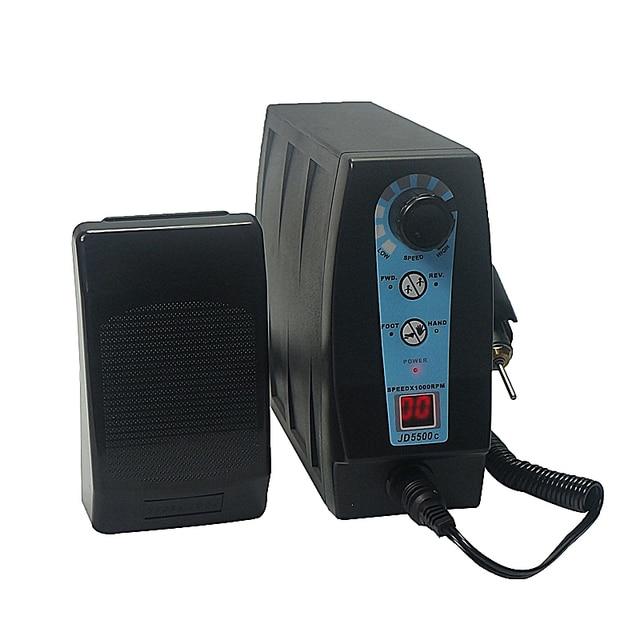 Jsda JD5500C Gioielli Rettifica Elettrica Macchina Mini Macchina di Fresatura in vendita calda Trapano Pedicure Manicure