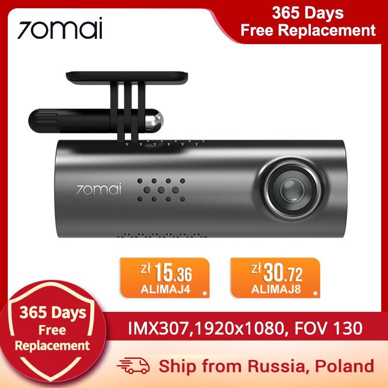 Xiaomi 70mai умная камера с голосовым управлен ием Автомобильный видеорегистратор Автомобильная камера