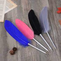 Новый европейский стиль ретро перо ручка большая плавающая Гальваническая перо Шариковая ручка Dip Ручка-роллер