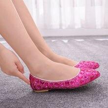 Женская обувь на плоской подошве; повседневная обувь; свадебная