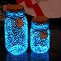 1 сумка светящихся частиц песок красочные флуоресцентный светящийся порошок светится в темноте дома для рождественской вечеринки декор DIY ...