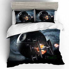 Home Textiles Bed Linen Set Star Wars Qualified 3D Luxury Couple 3d King Size Bedding duvets and linen sets Cotton