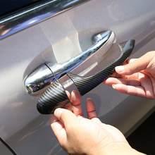 Garniture de poignée de porte extérieure en ABS chromé, autocollant pour Mercedes Benz classe C W205 GLC X253 classe E W213, 4 pièces