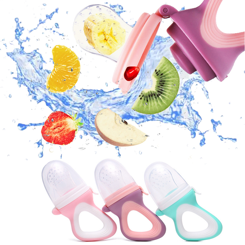Baby Food Pacifier Fresh Food Fruit Feeder Kids Pacifier Safety Baby Products Pacifier Nipple Bottle Feeding For Infant Supplies