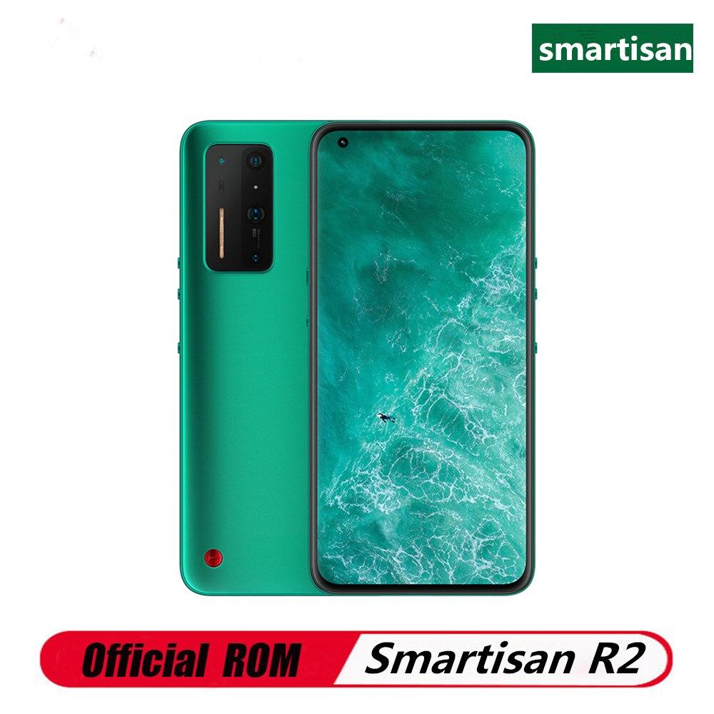 Оригинальный Smartisan R2 5G мобильный телефон Snapdragon 865 Android 10,0 6,67