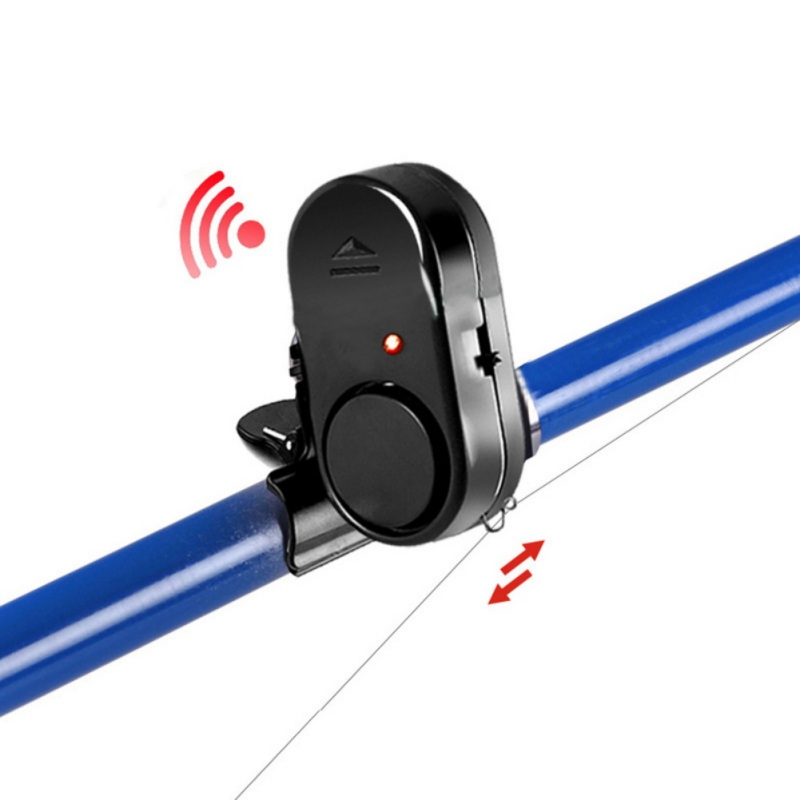 New Waterproof Sound And Light Fishing Alarm Sea Rod Electronic Fish Biting Sound Alarm Bell Alarm Throw Fishing Fishing Gear