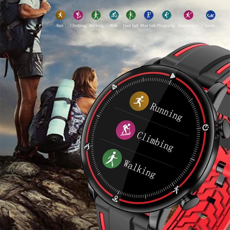 Многофункциональные умные часы с сенсорным экраном спортивные