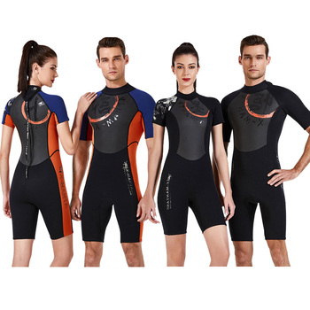 3mm Neoprene Diving Suits One Piece Full Body Surf Clothing Long Sleeve Diving Wetsuits Men Swimwear Scuba Swimsuits Jumpsuit