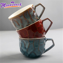 New creative mugs ins Nordic contracted cup home office retro ceramic coffee milk