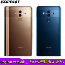 Dla HUAWEI Mate 10 Pro tylna pokrywa baterii obudowa tylnej obudowy obudowa szklana wymień na 6.0