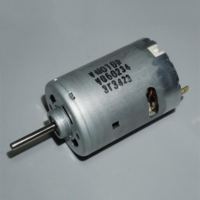1pc DC12-24V 22000RPM Long Shaft RS-545 High Speed Large Torque DC Motor for DIY