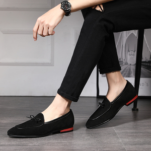 Image 4 - 37 48 men loafers moccasins Breathable Brand classic Plus Size fashion Comfortable elegant luxury casual shoes men #7719