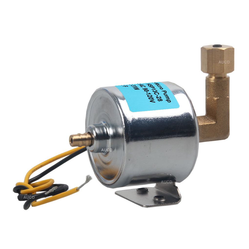 AUCD 90-240V 28W Cuprum Core Motor 1200W 15000W Smoke Fog Machine Oil Pump Steam Iron Fogger Aspirator Water Spray Parts 13C-28