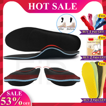 EiD Severe Flat feet insoles EVA Orthotic Arch Support Inserts Orthopedic Shoes Insoles Heel Pain Plantar Fasciitis Men Woman