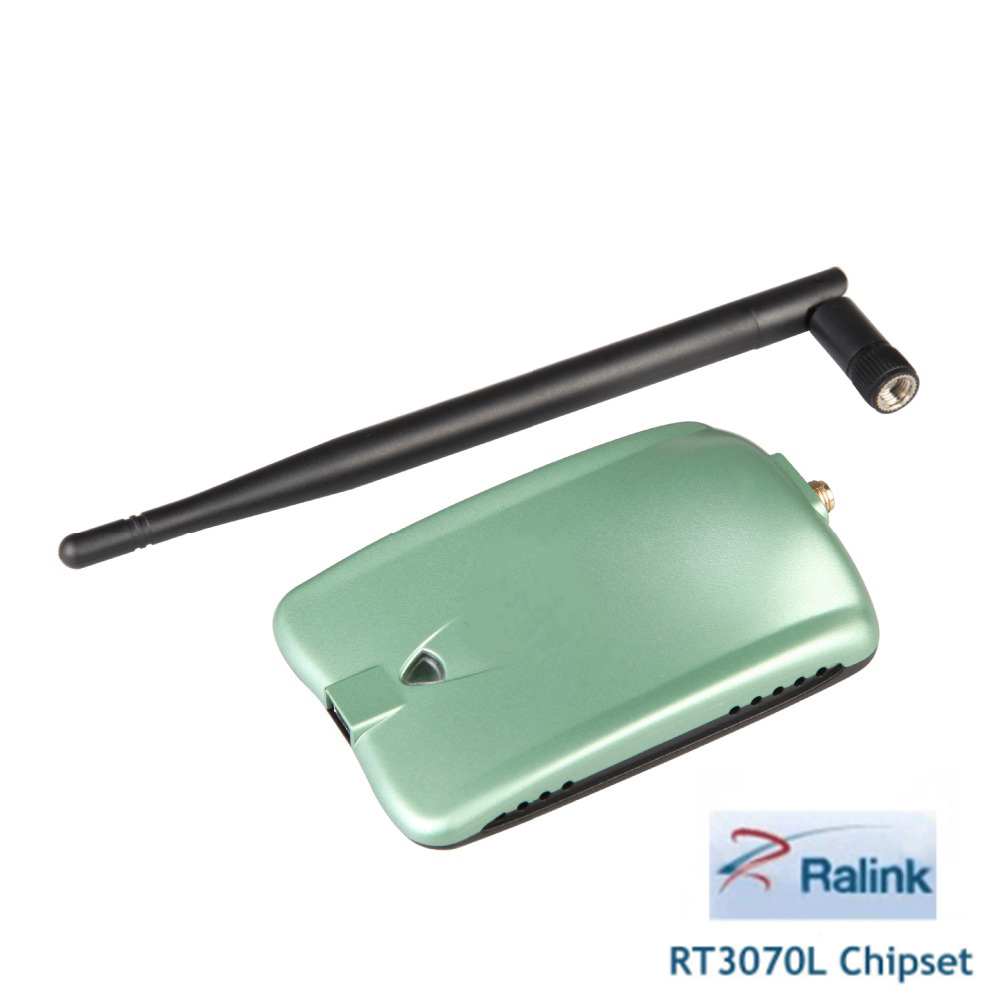 Ralink 3070L chipset 150 Mbps wireless USB adapter 2000mW high power wireless network card with 5db antenna LFA AWUS036NH(China)