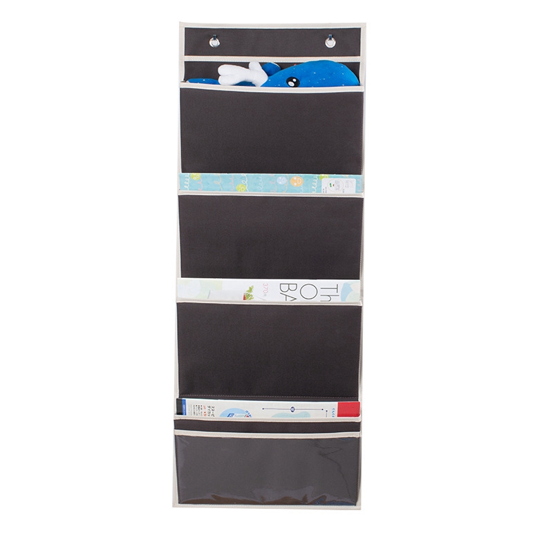A01-Hanging Wall Organizer, Hanging File Folders Wall Mount/Over The Door Office Supplies Storage Mail Organizer For Notebooks,P