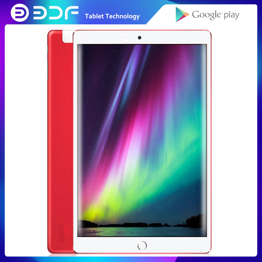 BDF 10 Inch Android 7.0 Quad Core  IPS Tablet Pc 1GB+32GB WiFi Laptop 3G Dual SIM Card Tab Phone Call Tablets